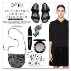 """SvMoscow"" by lucky-1990 ❤ liked on Polyvore featuring Maison Margiela, Yohji Yamamoto, Sinclair, Ann Demeulemeester, Max Factor, Illamasqua and MAC Cosmetics"