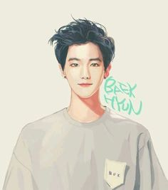 Baekhyun EXO fanart for Stardium Baekhyun Fanart, Chanyeol Baekhyun, Kpop Fanart, Chanbaek Fanart, Baekyeol, K Pop, Kpop Anime, Exo Fan Art, Kpop Exo