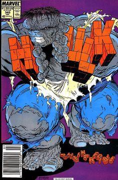Hulk. Issue No. 345. Todd McFarlane cover art.