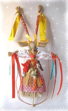 Обрядовая кукла Коза — символ жизненной силы.