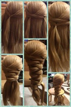 Transparent Lace Front Wigs Human Hair with Baby Hair Pre Plucked Body Wave Human Hair Wig - Flechtfrisuren Pretty Hairstyles, Easy Hairstyles, Bridal Hairstyles, Medium Hair Styles, Curly Hair Styles, Natural Hair Styles, Updo Styles, Pinterest Hair, Hair Dos