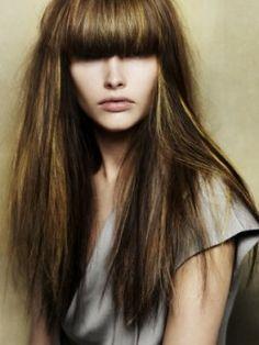 2013 Fall Highlights for Brunette Hair
