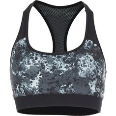 Hurley Dri-Fit Sports Bra ($36) ❤ liked on Polyvore featuring activewear, sports bras, hurley sportswear and hurley