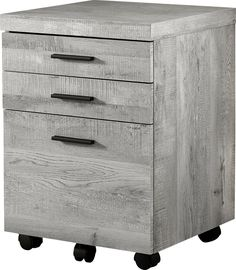 Welcome to Rooms To Go! Salon Trolley, Drawer Filing Cabinet, Plastic Drawers, Grey Wood, Particle Board, Working Area, Industrial Style, Wood Grain, Decorative Items