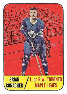 Brian Conacher: Author of 'As The Puck Turns' - Vintage Hockey Cards Report Hockey Cards, Baseball Cards, Maple Leafs Hockey, Toronto Ontario Canada, Toronto Maple Leafs, How To Memorize Things, Nhl Players, Author, Athletes