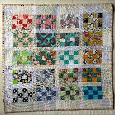 Finished Pack Patch Mini. Green Cheese Quilting.