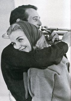 "Paul Newman & Joanne Woodward.  When asked how their marriage endured he said, ""Why would I want to go out for hamburger when I have steak at home!"""