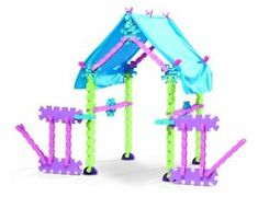 Buy Little TikeStix Playhouse by B-Toy&Game Playhouse Bed, Playhouse Kits, Little Pet Shop, Little Pets, Little Girls Playhouse, Balloon House, Little Cottages, Pink Bedrooms, Little Tikes