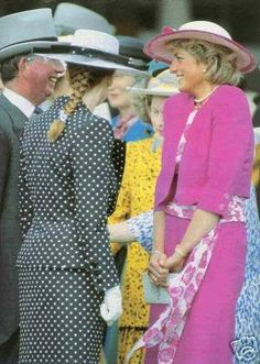 3 JUNE 1987 A DAY AT THE EPSOM DOWNS RACECOURSE WITH PRINCESS DIANA AND THE…