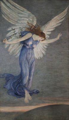 The Angel of Peace - Walter Crane