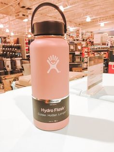 Shop the top-selling Hydro Flask Wide Mouth 32 oz. Bottle at DICK'S Sporting Goods. Choose from over a dozen colors and find out what makes Hydro Flask one of the highest-rated water bottles… Cute Water Bottles, Drink Bottles, Mochila Kanken, Hydro Flask Water Bottle, Food Storage Boxes, Stainless Steel Types, Coffee Bottle, Things To Buy, Girl Things