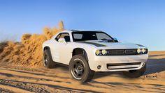Dodge Challenger A/T Untamed Concept