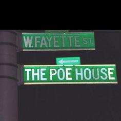 Where I'm headed... (the poor house- not Baltimore where I took this photo)