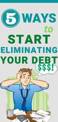 If you are serious about getting rid of your debt, and becoming debtfree, you need to attack your debt in a straightforward manner. Here are 5 steps to help you eliminate your debt, and rebuild your savings account. Debt Free Living, Budgeting 101, Get Out Of Debt, Debt Payoff, Money Tips, 5 Ways, Rid, Finance, Freedom