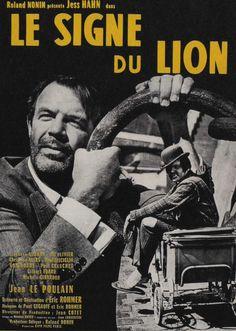 Le Signe Du Lion d'Eric Rohmer, mercredi 26 février à 21h au Forum des images !