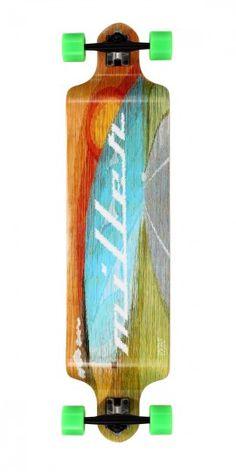 Miller Longboard · Tagle downhill, 41''  Si lo que te gusta es bajar, no lo dudes, este es tu longboard.
