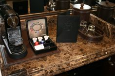 The Nespresso Beverage System in our new Deluxe Guest Room Villas.