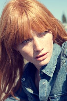 Hair Hair Styles for Girls Pretty Hairstyles, Braided Hairstyles, Redheads Freckles, Corte Y Color, Beauty And Fashion, Strawberry Blonde, Beautiful Redhead, Ginger Hair, Love Hair
