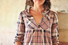 Wiksten Tova : Cotton Plaid Shirting by make_something, via Flickr