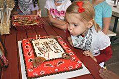 cowgirl/cowboy/western/country party (menu, decor ideas). such a fun birthday theme!
