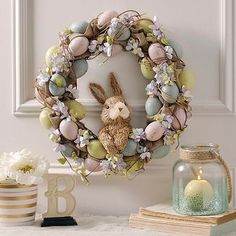 easter decorations 276056652144749039 - Hydrangea and Eggs Easter Bunny Wreath Source by leadalton Diy Spring Wreath, Diy Wreath, Grapevine Wreath, Wreath Burlap, Wreath Ideas, Diy Osterschmuck, Easy Diy, Diy Ostern, Diy Easter Decorations