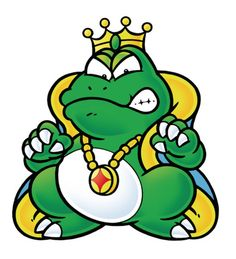 Wart, as he appears in Super Mario Bros. 2.