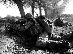 Whilst on a company operation in the greenzone a nearby multiple is contacted with small arms fire. OC's Tactical Headquarters goes firm and a rifleman scans his arcs with his SA80 rifle and unslings the 55mm rocket.