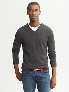 Extra-Fine Merino Wool Vee 30% off with coupon code BRSHOP30 ends Thursday 11/7
