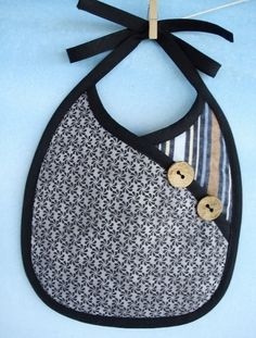 (9) Name: 'Sewing : Crossover Baby Bib