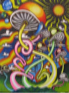 Stay Trippy ॐ Trippy Drawings, Psychedelic Drawings, Arte Dope, Dope Art, Hippie Trippy, Hippie Art, Trippy Pictures, Psychadelic Art, Acid Art