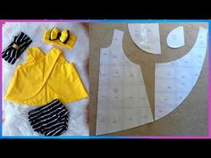 Costura Criativa Body para bebés recién nacidos, niñas con estampado Floral, Tops - YouTube Girl Dress Patterns, Coat Patterns, Blouse Patterns, Skirt Patterns, Barbie Dress, Barbie Clothes, Fantasias Halloween, Dress Tutorials, Heirloom Sewing