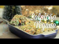 """Salpicão Vegano (com """"Carne"""" de Jaca) - Especial de Natal - YouTube"""