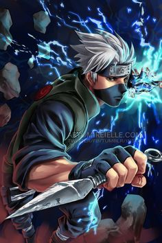 Kakashi Hatake Poster Print Fanart Wall Art Naruto Shippuden Home Decor Boruto Shonen Ninja sold by Ginma ART. Shop more products from Ginma ART on Storenvy, the home of independent small businesses all over the world. Wallpaper Naruto Shippuden, Naruto Shippuden Sasuke, Naruto Sasuke Sakura, Naruto Wallpaper, Itachi Uchiha, Sasuke Sarutobi, Naruto Gaiden, Anime Naruto, Naruto Art