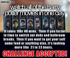 Might have to take this challenge. To be honest, I'm surprised I haven't done it already.