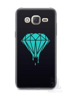 Capa Capinha Samsung J7 Diamante Azul