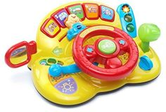 Toddler Driving Toy Kids Turn Learn Driver VTech Interactive Learning System New…