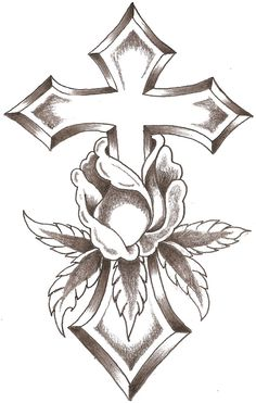 cross Tattoo | Cross Drawing - LiLz.eu - Tattoo DE
