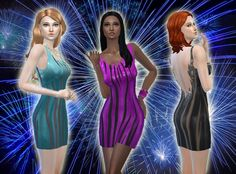 Flame Dress at My Stuff • Sims 4 Updates