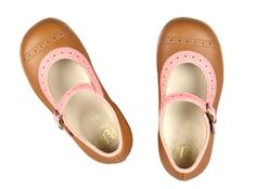 Love these colors. pepe children shoes | Little Vida