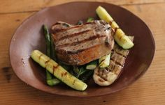 Lemon-Truffle Vinaigrette is divine on pork, as in this recipe, but also on chicken, veal, shrimp and all kinds of fish.