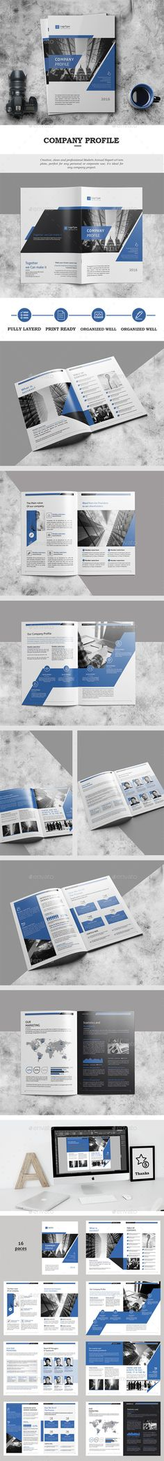 Corporate Business Brochure 16 Pages A4 — InDesign INDD #a4 #corporate • Download ➝ https://graphicriver.net/item/corporate-business-brochure-16-pages-a4/18650250?ref=pxcr
