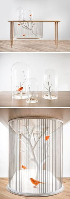 Birdcage Table by French interior architect and designer Grégoire de Lafforest