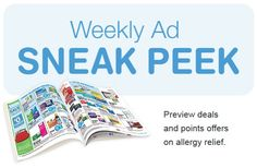 Walgreens Ad Sneak Peek For 3/15/2015-3/21/2015  Discover this week's deals, savings and bonus buys at your local Walgreens. Keep on saving with Paperless Coupons Now you can save even more with coupons that clip straight to your Balance® Rewards card.