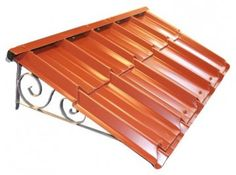 House Canopy, Porch Canopy, Window Canopy, Metal Awnings For Windows, Window Awnings, Small House Layout, House Layouts, Patio Door Coverings, Window Shutters Exterior