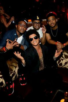Bruno Mars and the Band <3