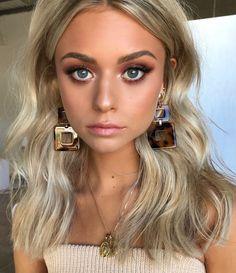 Pinterest: DeborahPraha ♥️ makeup with neutral earth tones