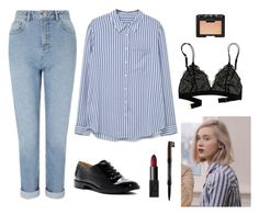 """noora sætre - school look"" by sona-storova ❤ liked on Polyvore featuring MANGO, Miss Selfridge, Franco Sarto, NARS Cosmetics, NYX, Madewell, noora and skam"