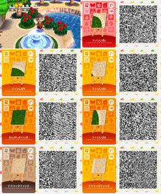 Animal Crossing: New Leaf & HHD QR Code Paths : Photo Maybe to also go with fairytale path-bridge in acnl? Qr Code Animal Crossing, Animal Crossing Qr Codes Clothes, Acnl Qr Code Sol, Beautiful Creatures, Orang Utan, Acnl Paths, Theme Nature, Motif Acnl, Ac New Leaf