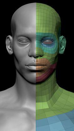 ArtStation - Realistic Face male, Chofni Knol