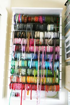 ribbon organizer...